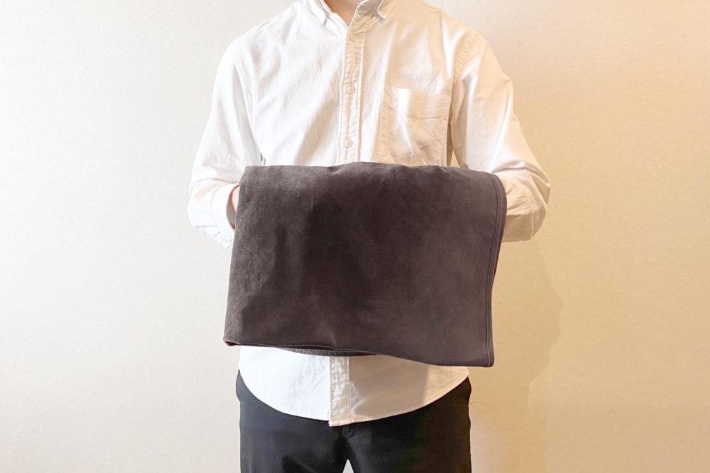 毛布のクリーニングの注意