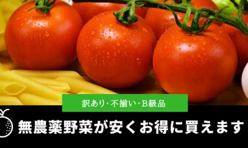 訳あり・不揃い・B級品の野菜をお得に購入