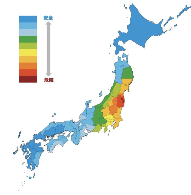 放射能地図