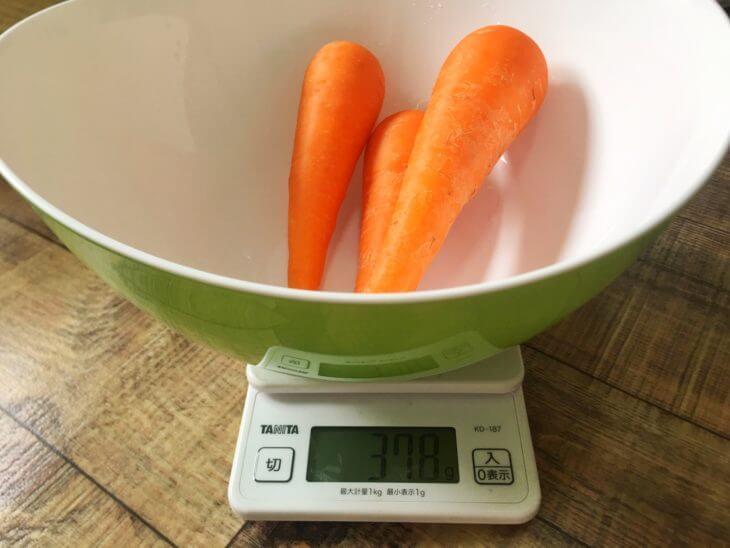 1日の野菜摂取量350g