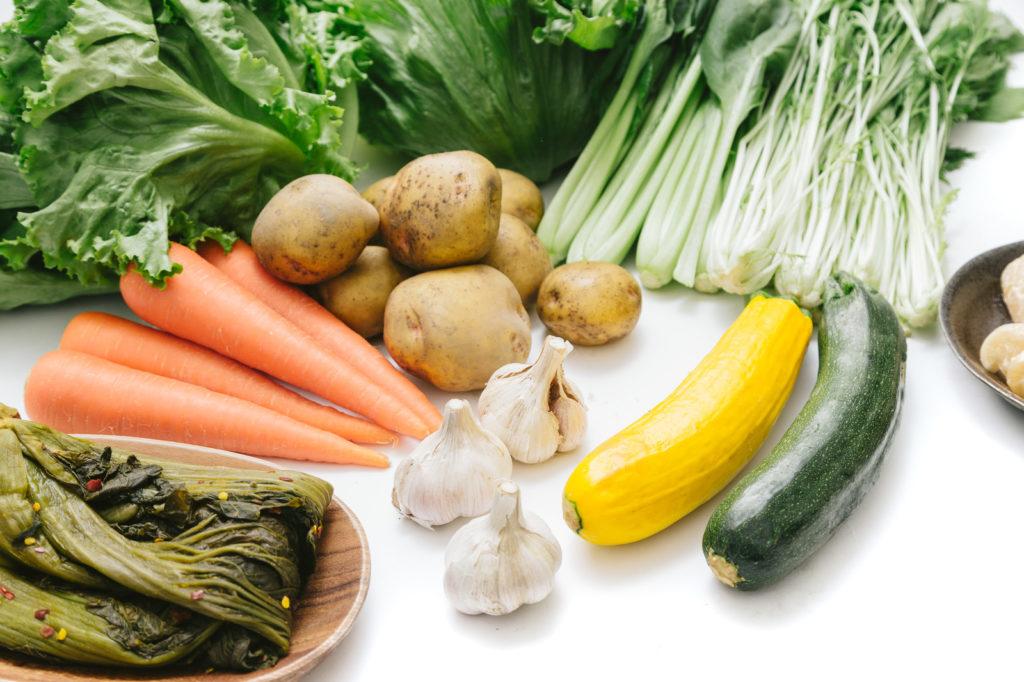 無農薬・有機(オーガニック)の野菜を使用する