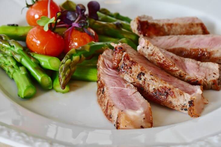 お肉の値段比較。