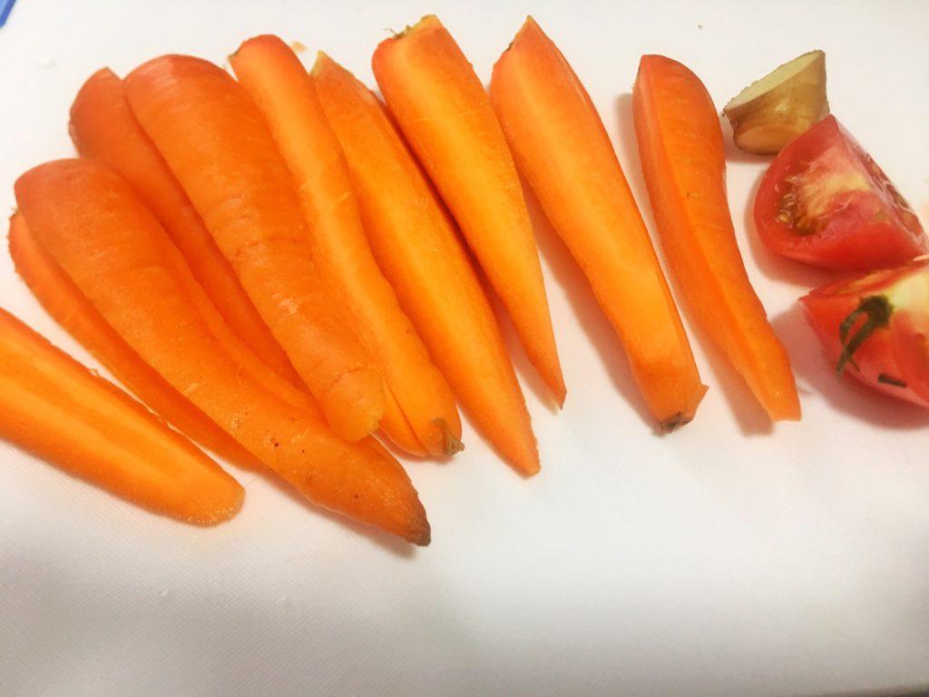 にんじん・生姜・トマトのコールドプレスジュース