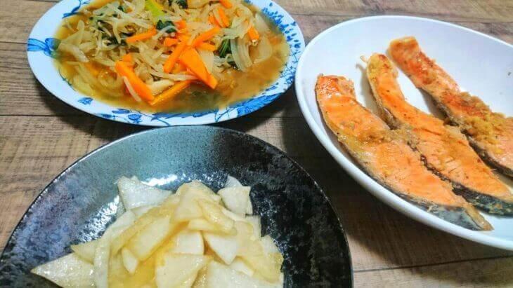夕食ネットの料理