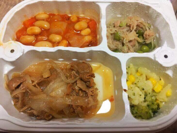 ウェルネスダイニングの冷凍惣菜