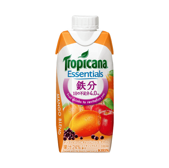 Tropicana Essentials 鉄分