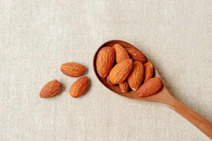 アーモンドの栄養と効能