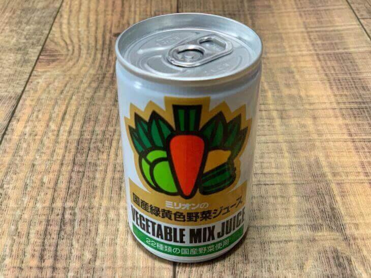 ミリオン野菜ジュースの缶