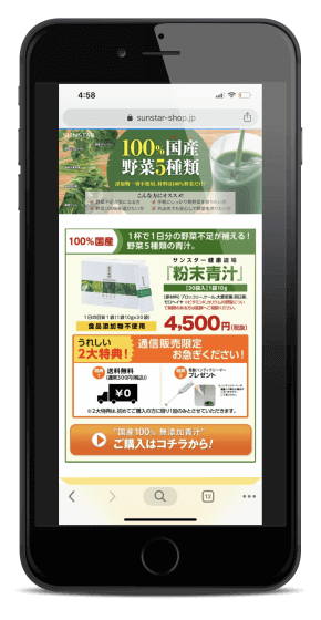 粉末青汁_公式サイト価格