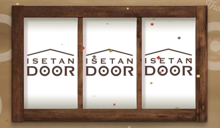ISETAN DOORのお試しセットスロット
