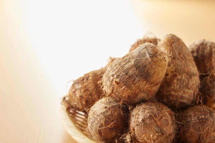 里芋の栄養を効率的に取る食べ方