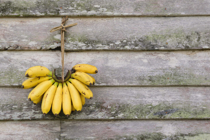 バナナを保存(追熟)させる方法